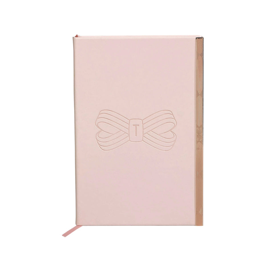 Ted Baker Pink A5 Notebook