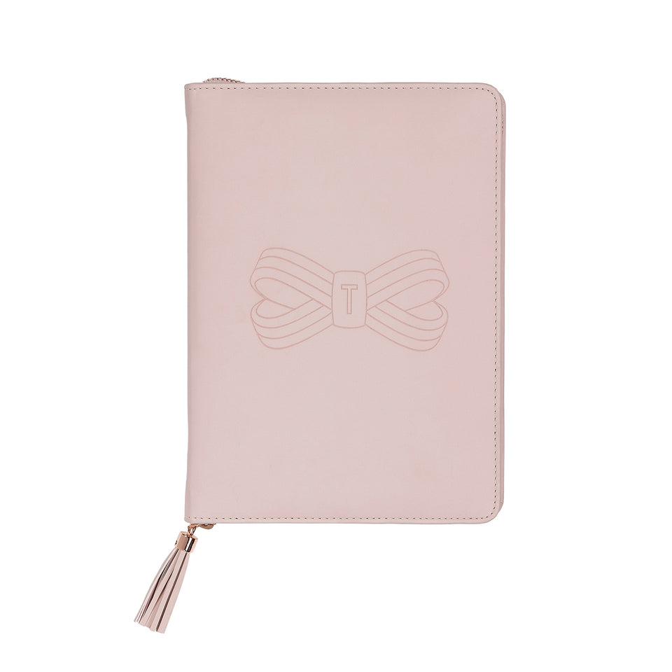 Ted Baker Pink A5 Folio