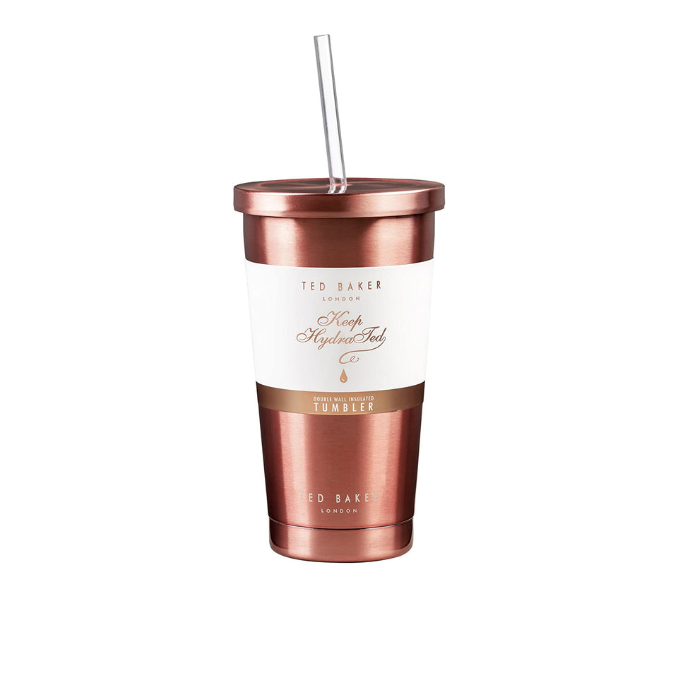 Ted Baker Rose Gold Insulated Tumbler