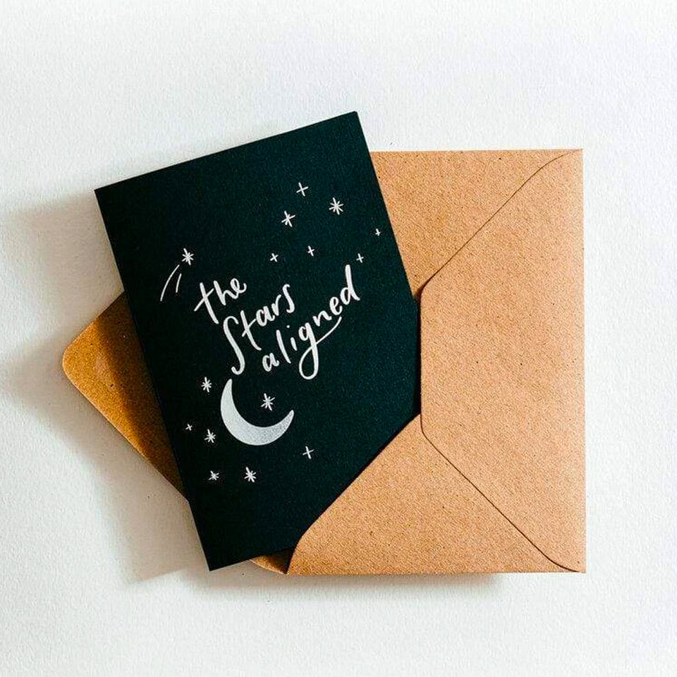 The Stars Aligned Card - Hunter Paper Co