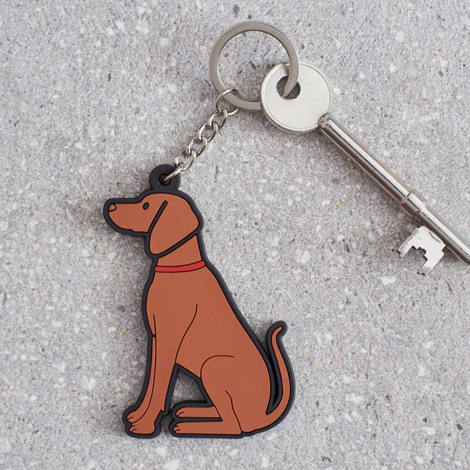 Vizsla Dog Keyring - Sweet William