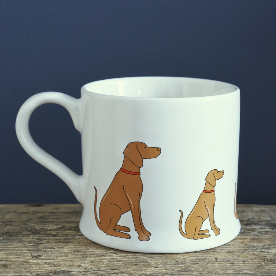 Vizsla Dog Mug Gift - Sweet William