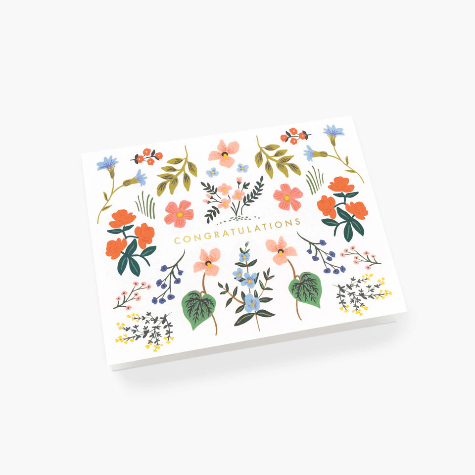 Wildwood Congratulations Card - Rifle Paper Co