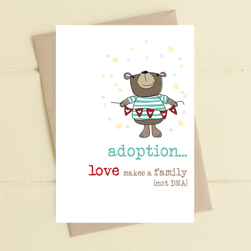 Adoption Card - Dandelion Stationery