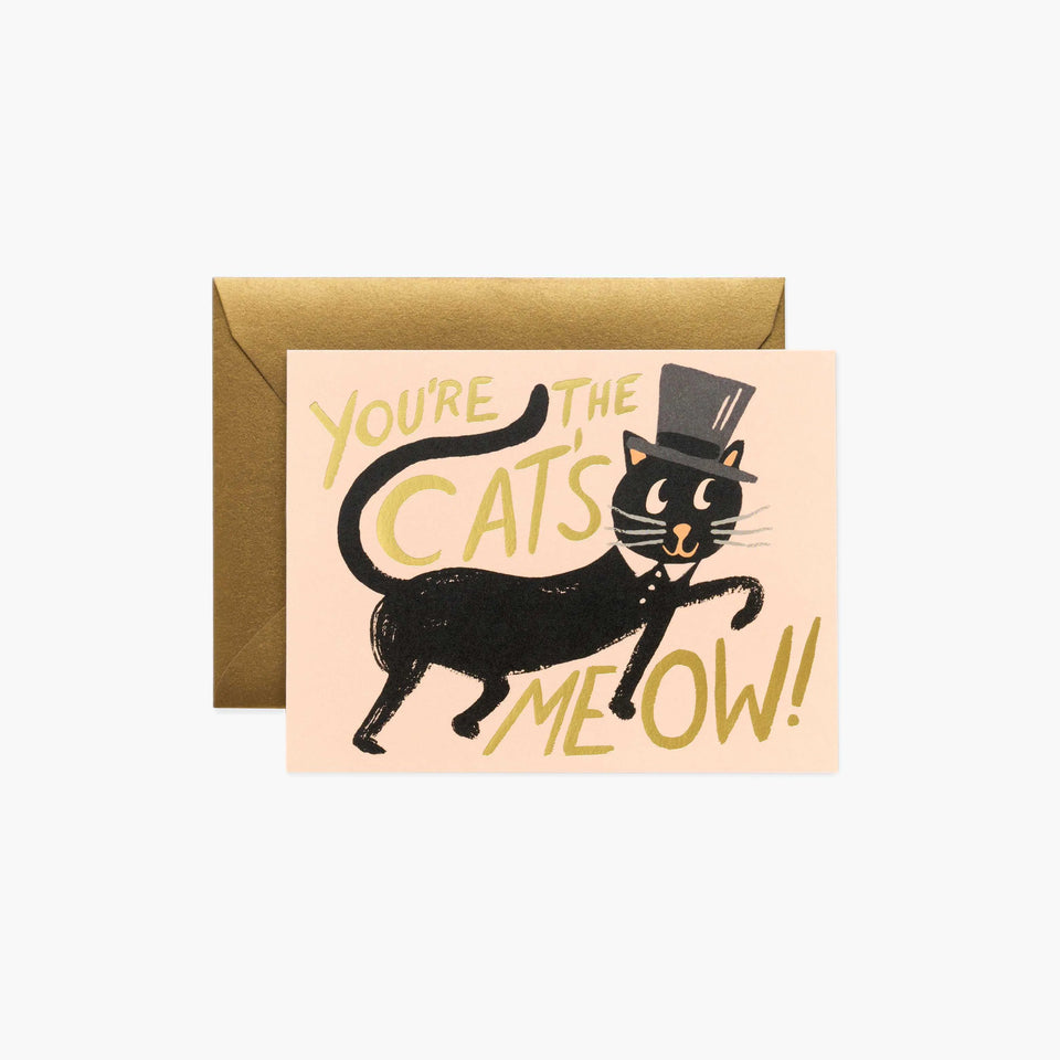 You're The Cats Meow! Card - Rifle Paper Co