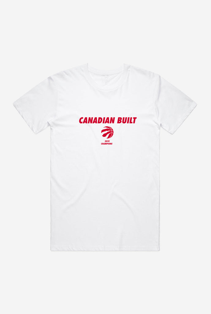 Toronto Raptors Canadian Built T-Shirt - White