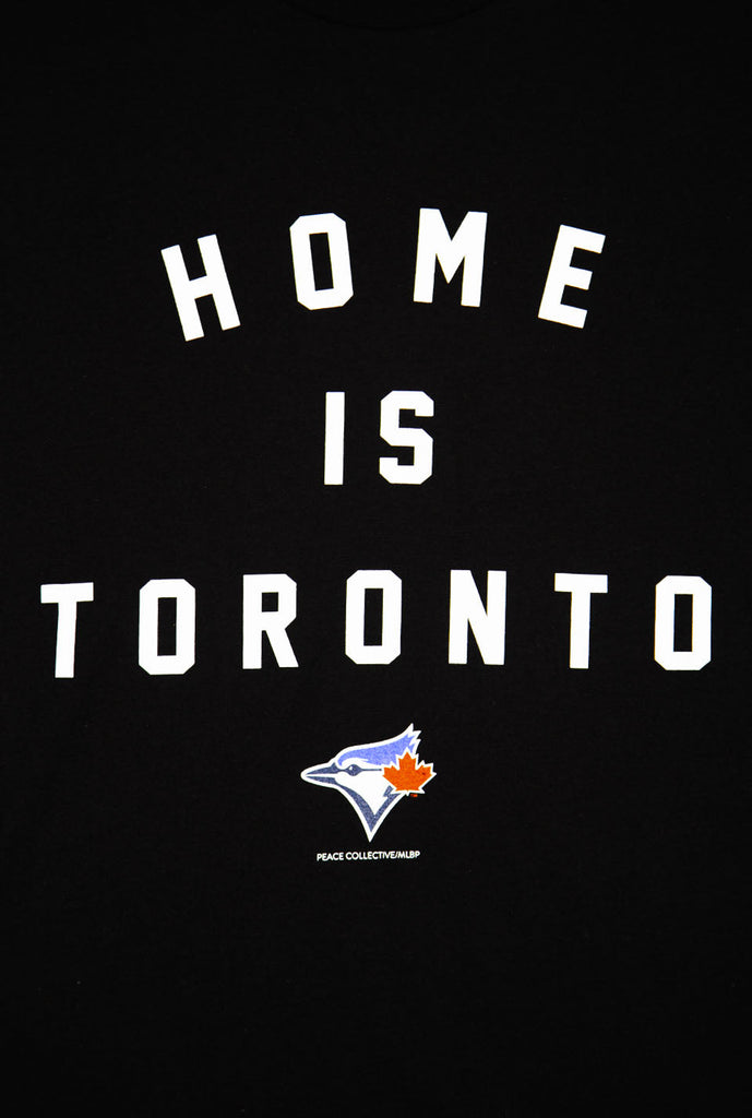 Blue Jays™ Collection Home is Toronto Varsity T-Shirt - Black