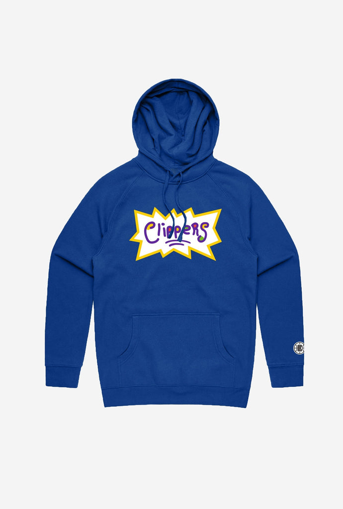 NBA x Rugrats Los Angeles Clippers Hoodie - Royal