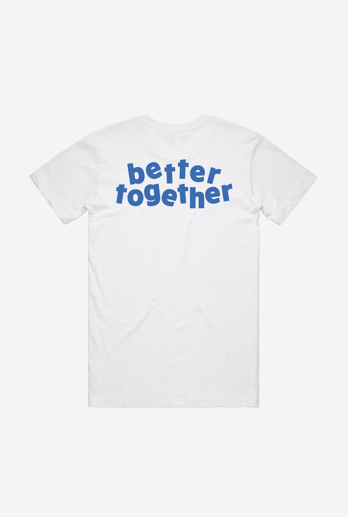 Peace Better Together Graphic T-Shirt - White