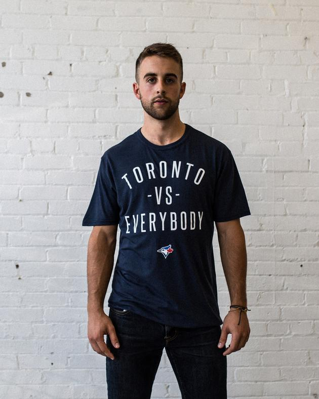 Blue Jays™ Collection Toronto -vs- Everybody® T-Shirt - Navy