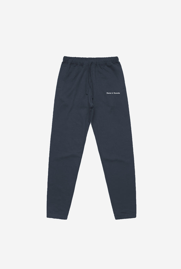 Home is Toronto Minimal Premium Jogger - Midnight Navy