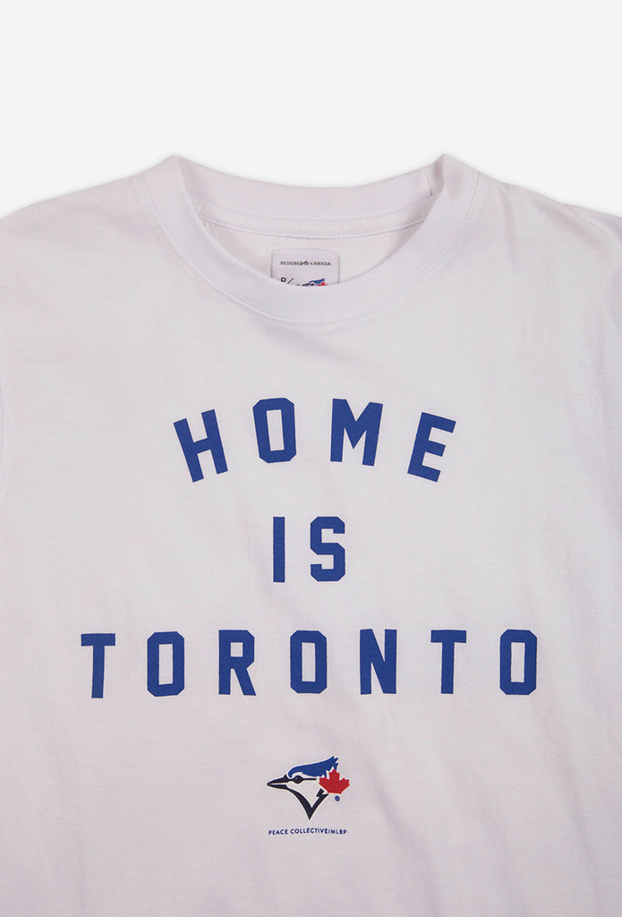 Blue Jays™ Collection Home is Toronto T-Shirt - White