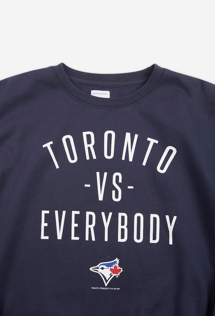 Blue Jays™ Collection Toronto -vs- Everybody® Crewneck - Navy