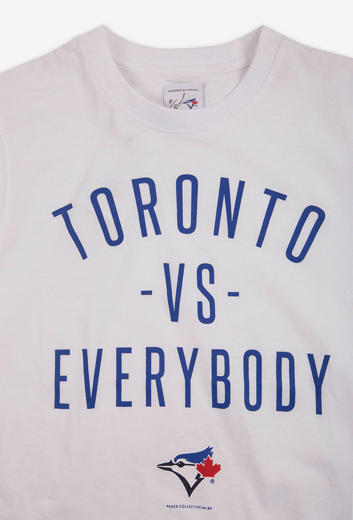 Blue Jays™ Collection Toronto -vs- Everybody® T-Shirt - White