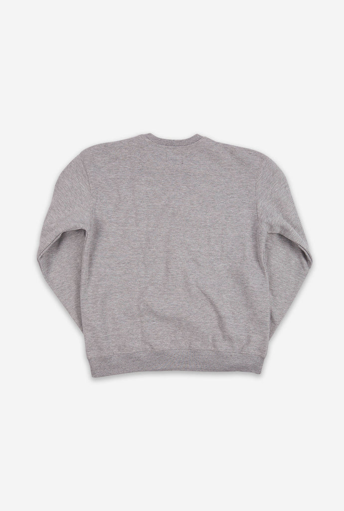 Canadian as Fuck Crewneck - Grey
