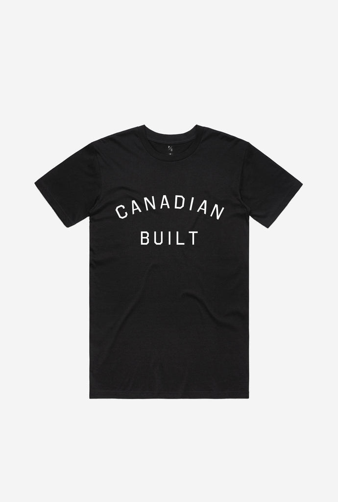 Canadian Built T-Shirt - Black