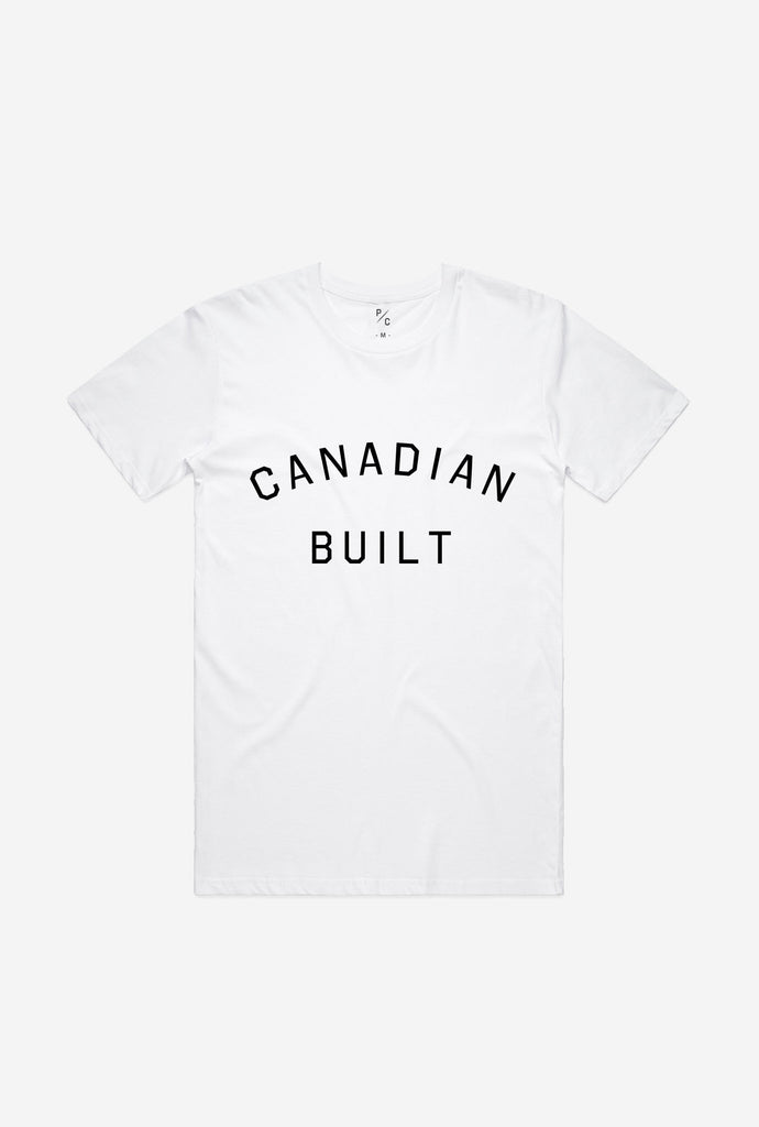 Canadian Built T-Shirt - White