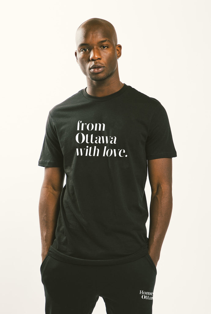 From Ottawa with Love T-Shirt - Black
