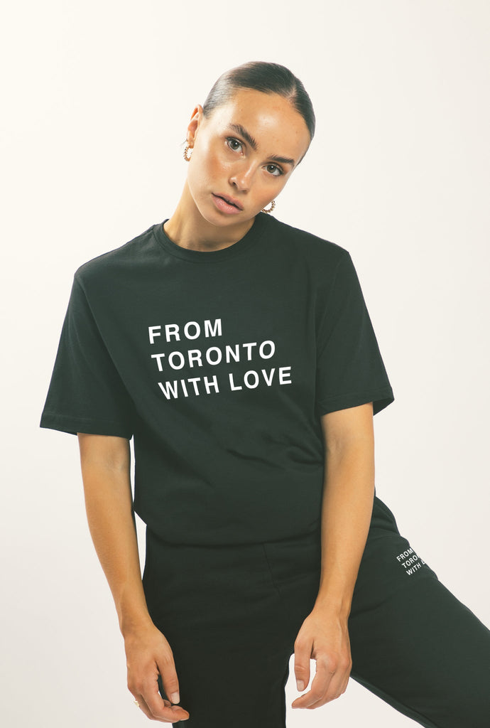 From Toronto with Love T-Shirt - Black