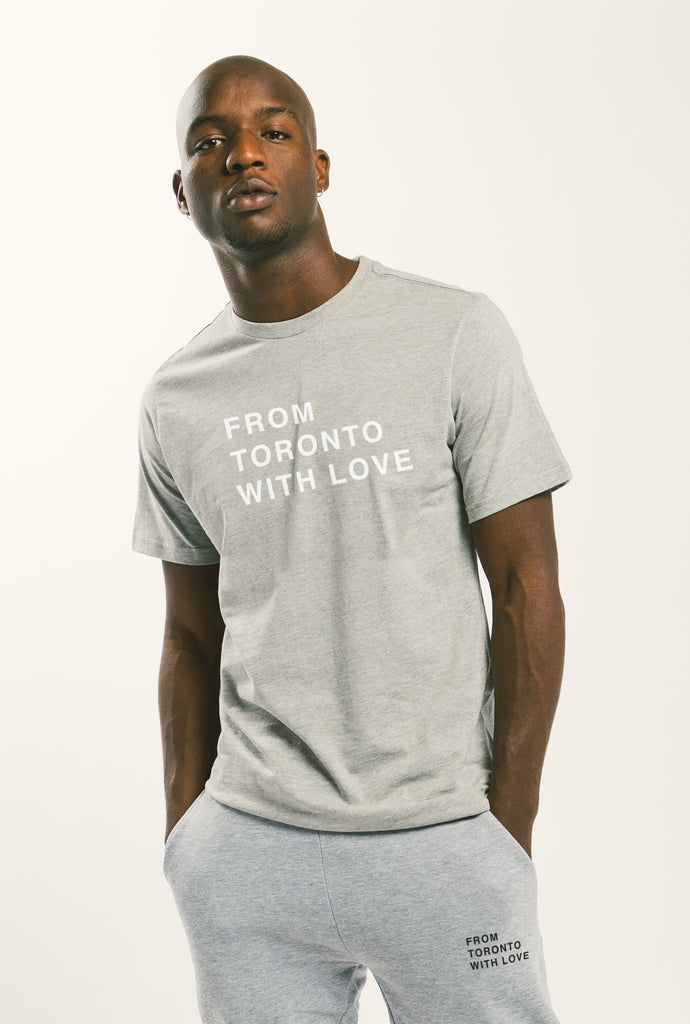 From Toronto with Love T-Shirt - Grey