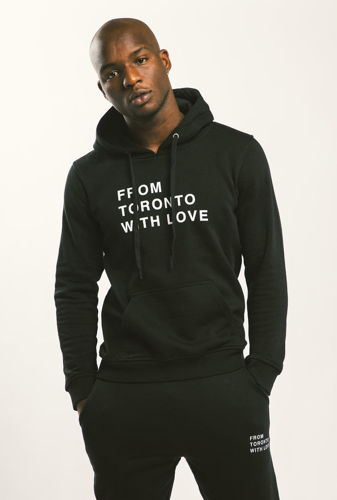 From Toronto With Love Hoodie - Black