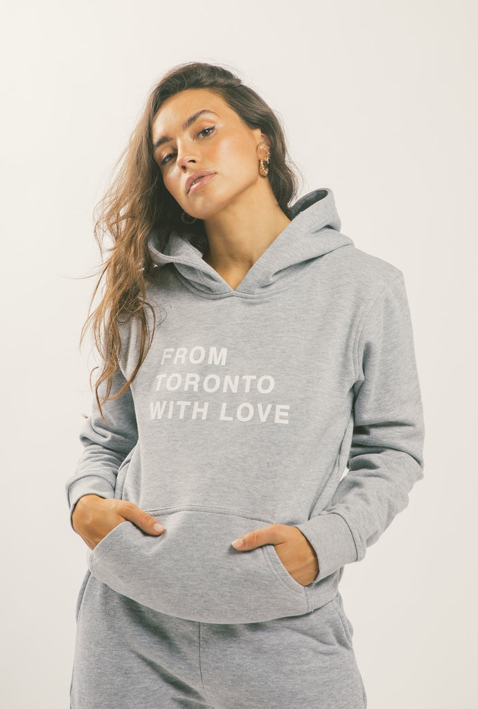 From Toronto With Love Hoodie - Grey