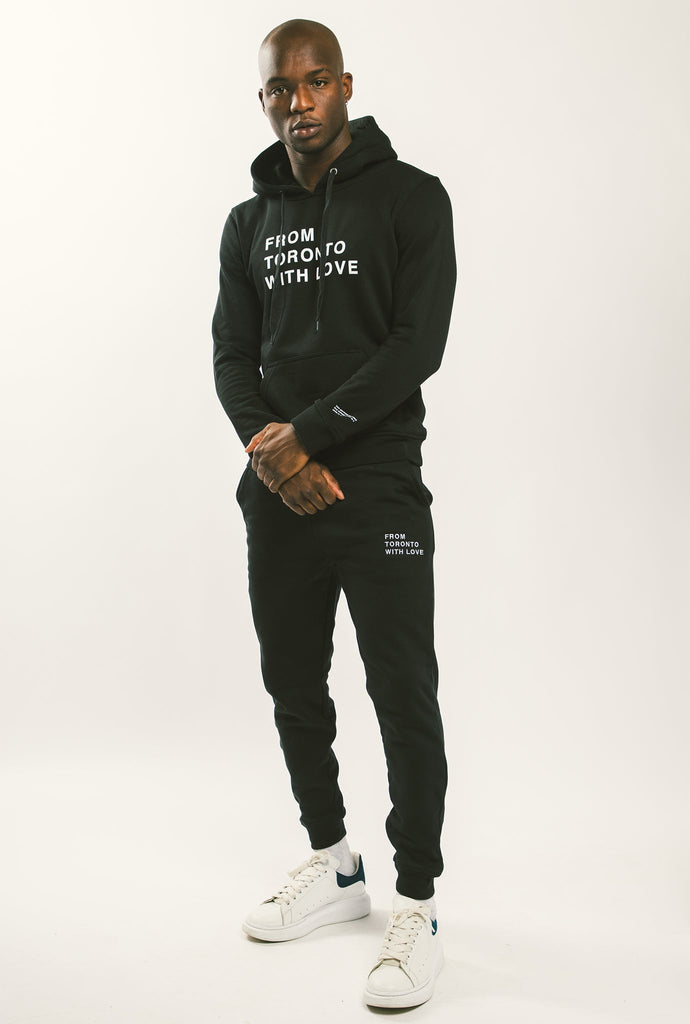 From Toronto with Love Slim Fit Jogger - Black