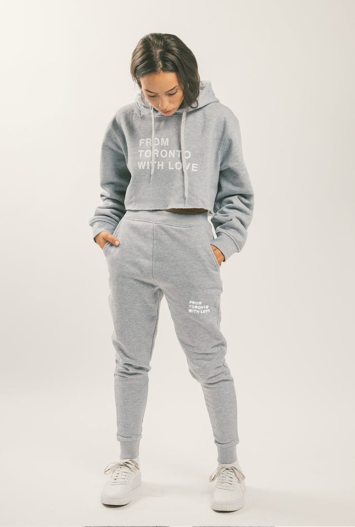 From Toronto with Love Jogger - Grey