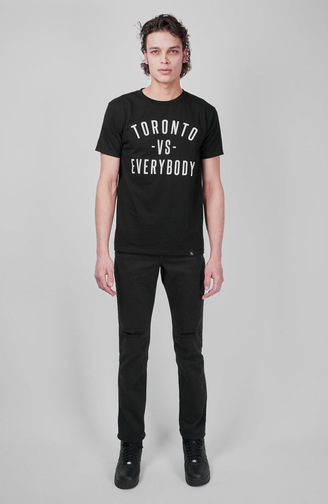 Toronto -vs- Everybody® T-Shirt - Black