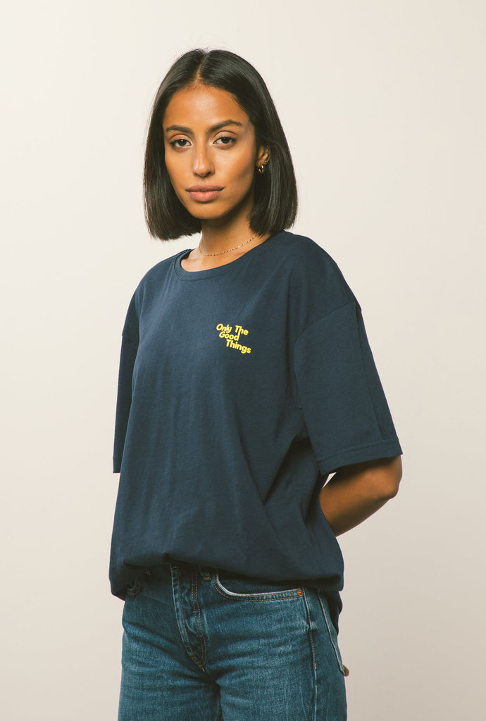 Only Good Things T-Shirt - Navy