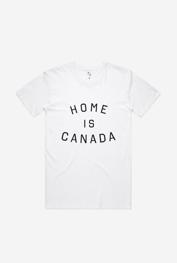 Home is Canada T-Shirt - White