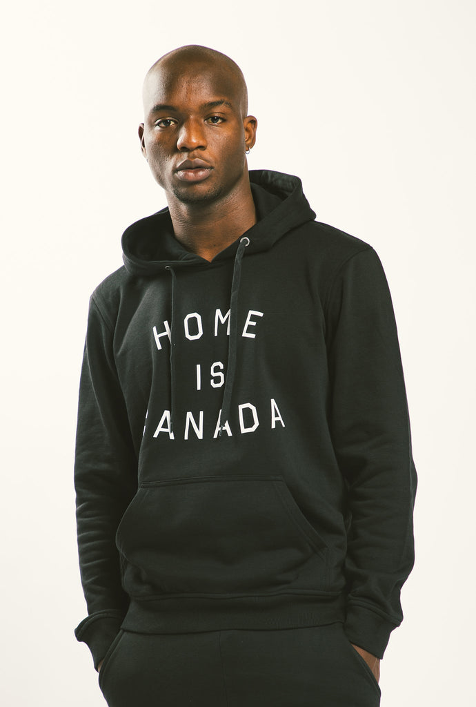 Home is Canada Hoodie - Black