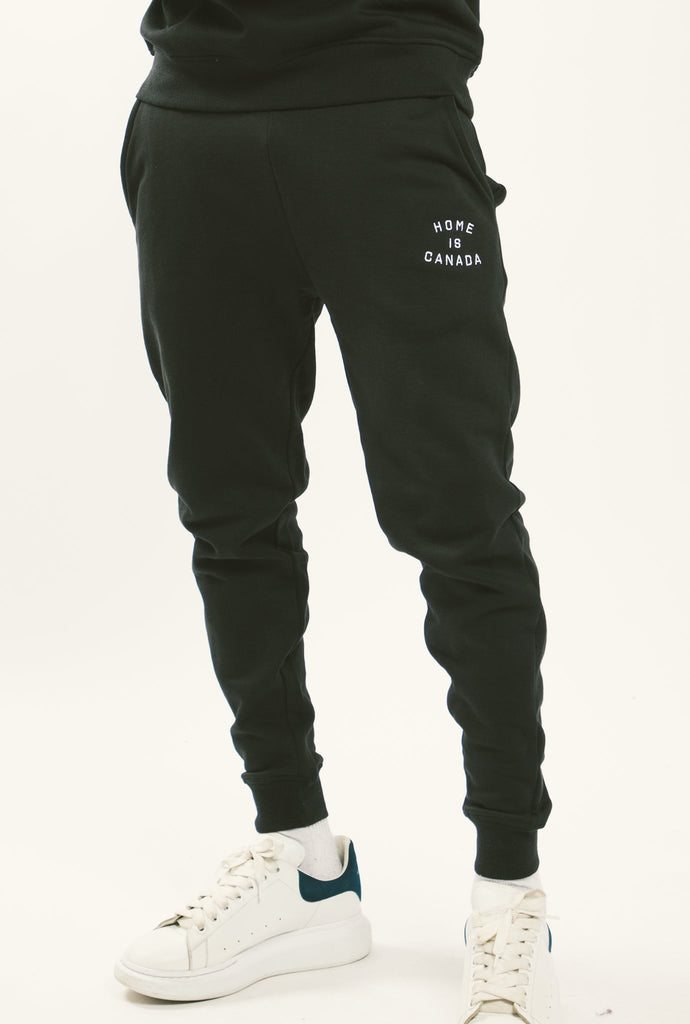 Home is Canada Slim Fit Jogger - Black