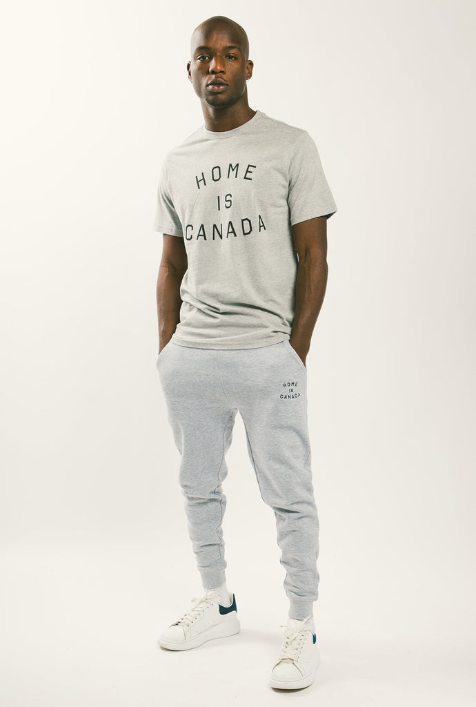 Home is Canada Slim Fit Jogger - Grey