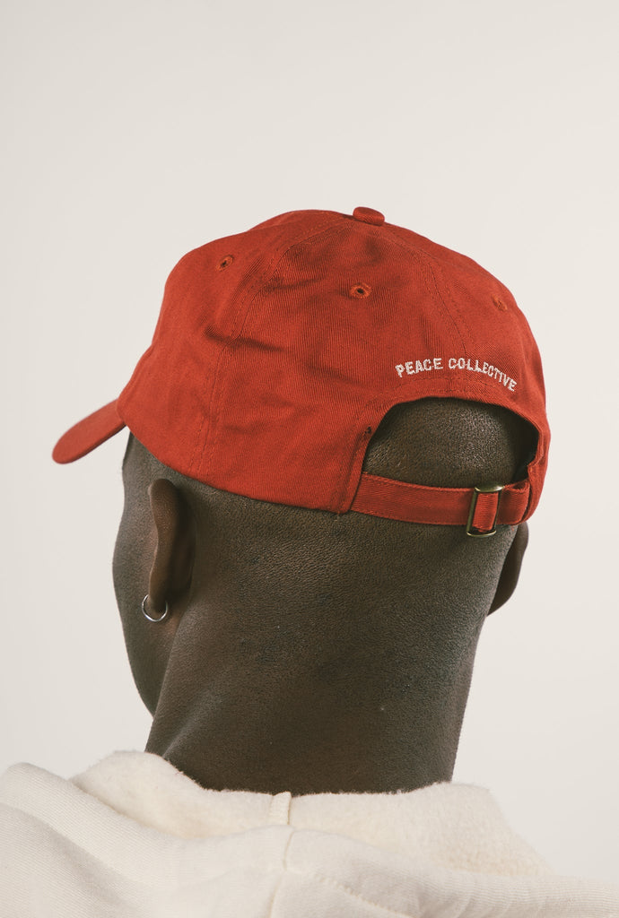Home is Canada Minimal Twill Dad Cap - Maroon