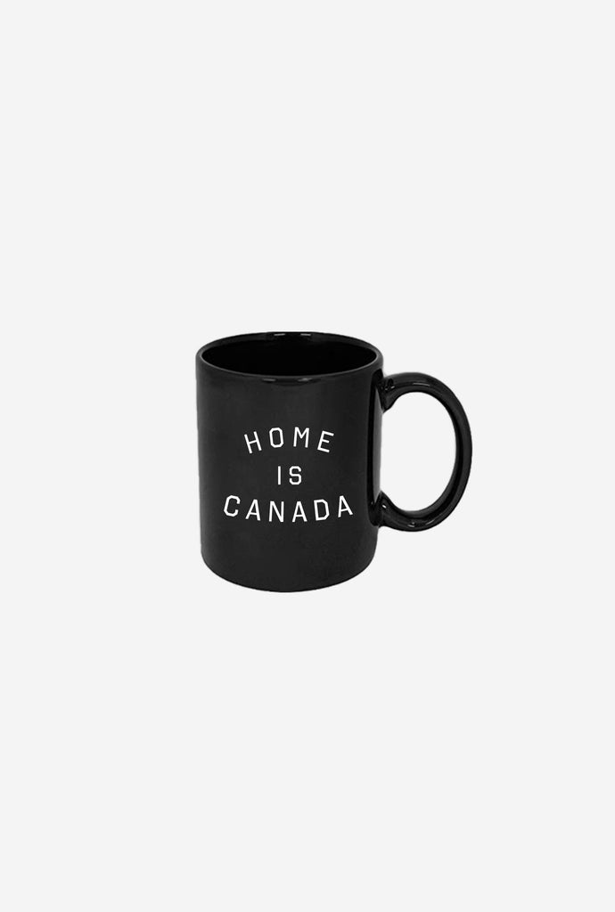 Home is Canada Mug - Black