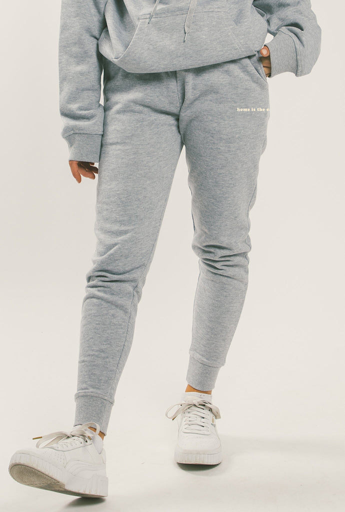Home is The East Coast Jogger - Grey