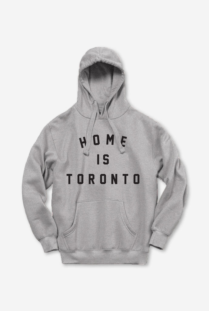 Home is Toronto Varsity Hoodie - Grey
