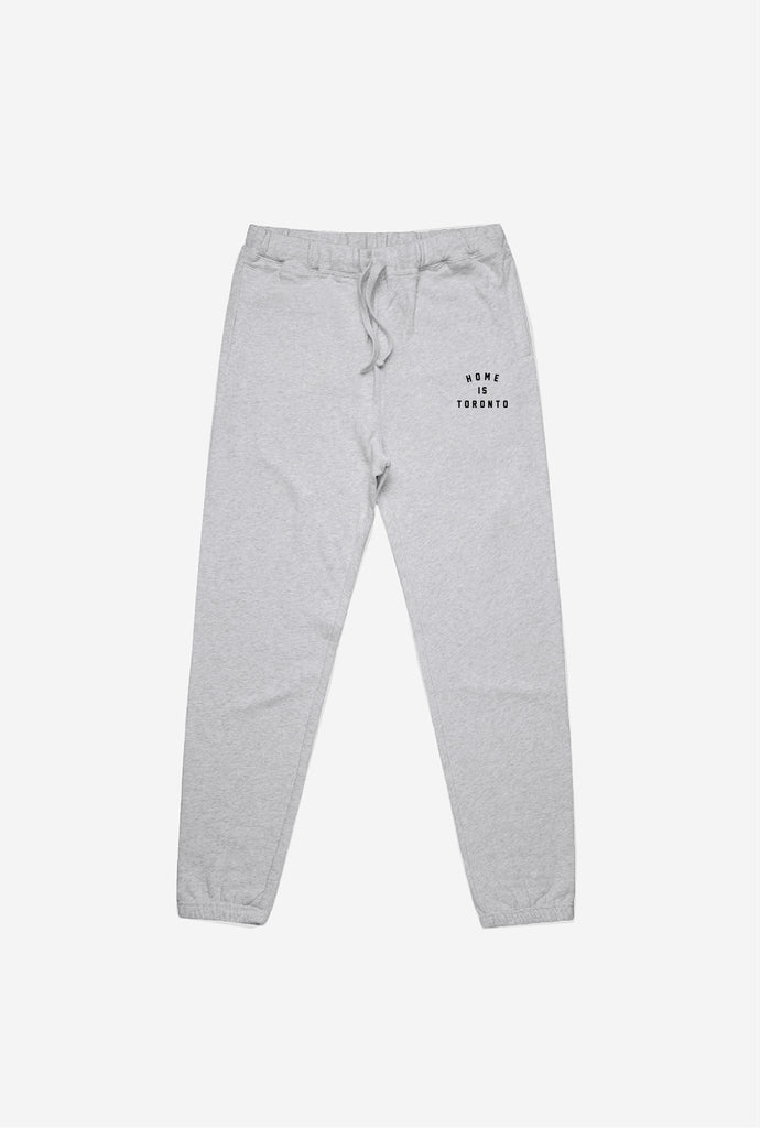 Home is Toronto Slim Fit Jogger - Grey