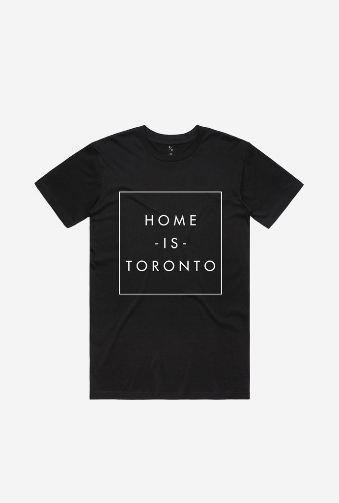 Home is Toronto Box T-Shirt - Black