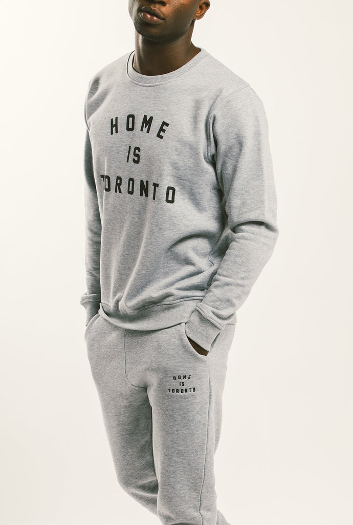 Home is Toronto Jogger - Grey