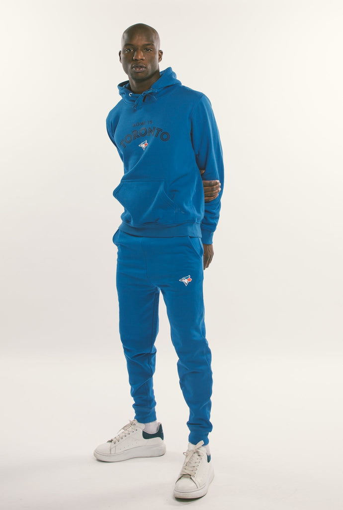 Toronto Blue Jays™ Home is Toronto Classic Logo Hoodie - Tonal Royal
