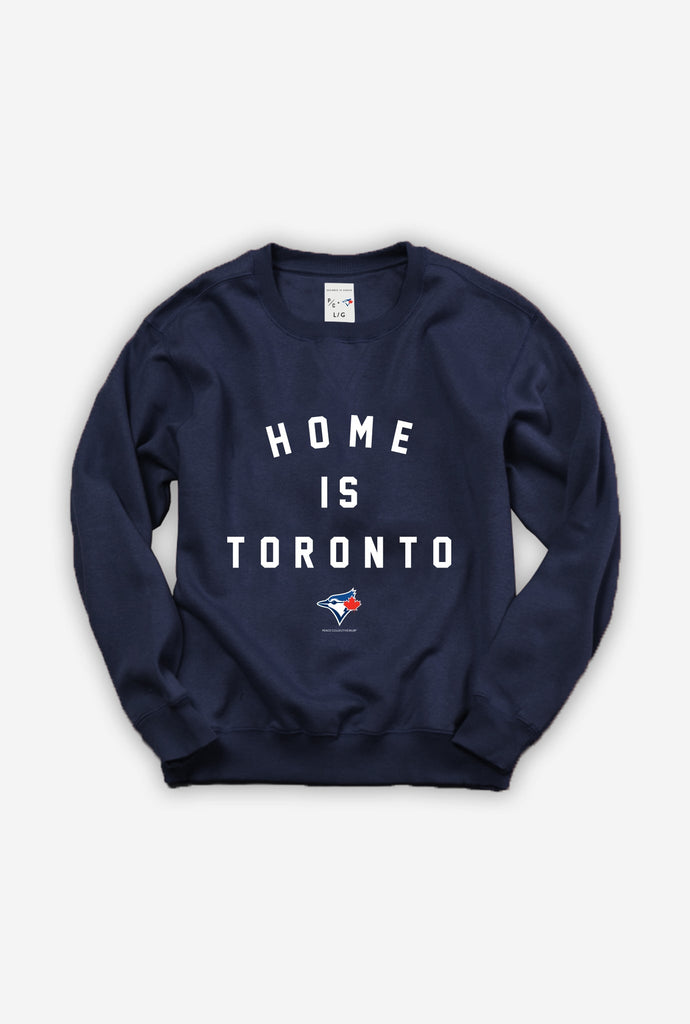 Blue Jays™ Collection Home is Toronto Crewneck - Navy