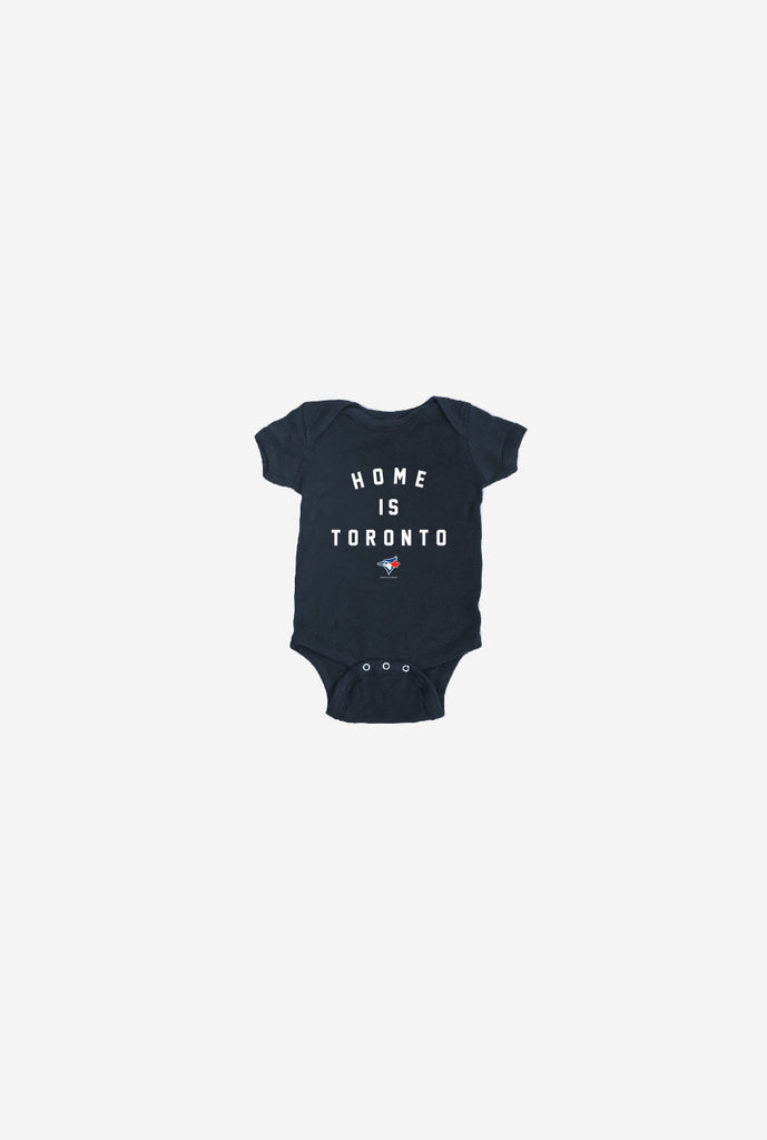 Blue Jays™ Home is Toronto Infant Onesie - Navy