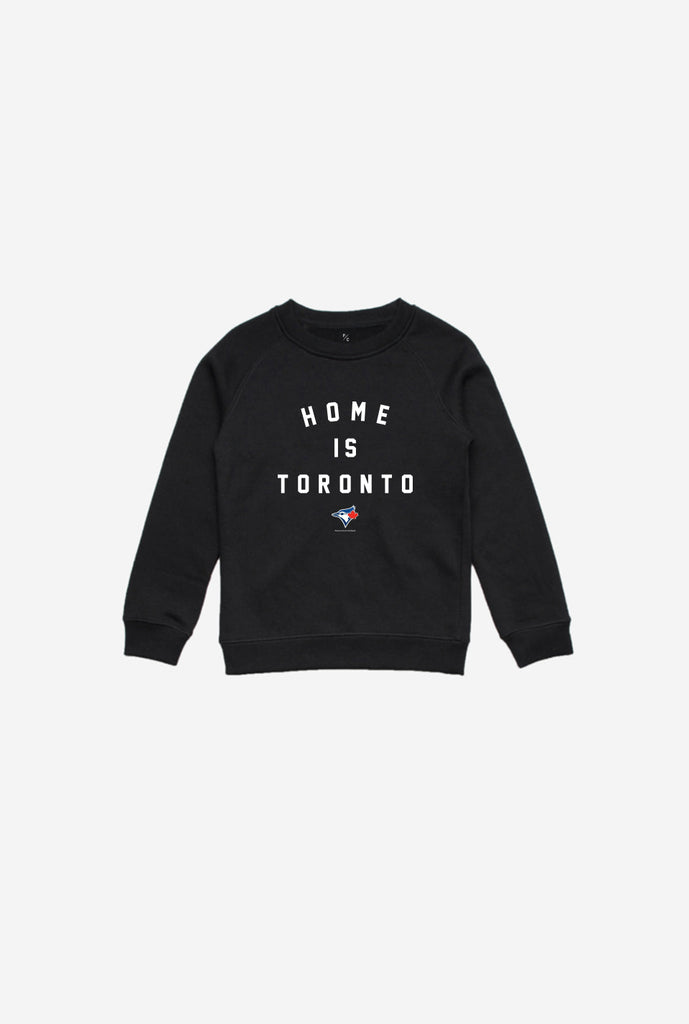 Blue Jays™ Home is Toronto Kids Crewneck - Black