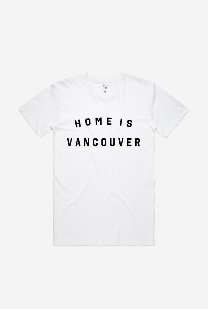Home is Vancouver T-Shirt - White