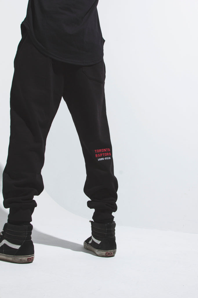 Toronto Raptors Fleece Jogger - Black
