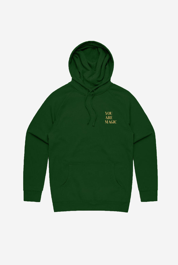 You Are Magic Hoodie - Forest Green