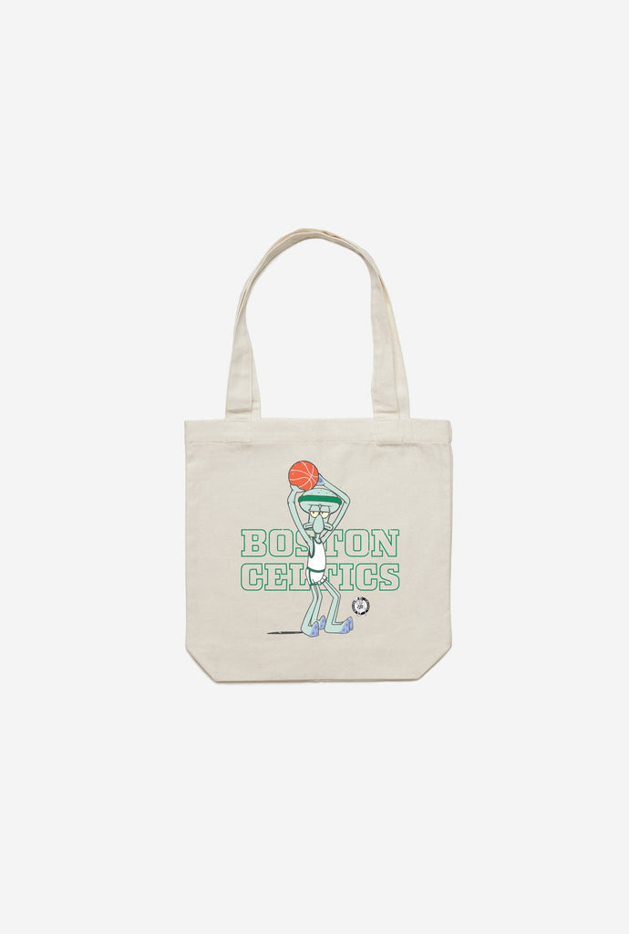 Boston Celtics Squidward Tote - Natural