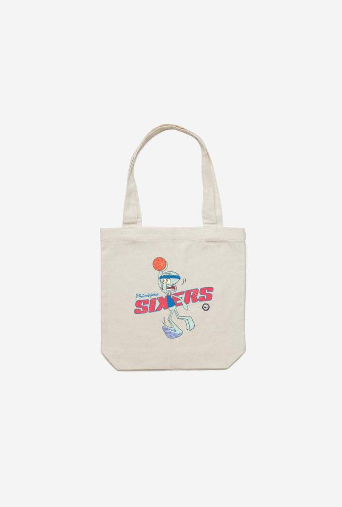 Philadelphia 76ers Squidward Dunk Tote - Natural